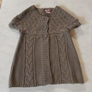Size 4 H+T Knitted cap style sleeve tunic